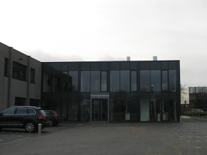 uitbreiding bedrijfspand vanesch verf b.v. tilburg